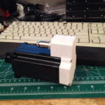 CNC Plastics Project:  Stepper Motor Covers