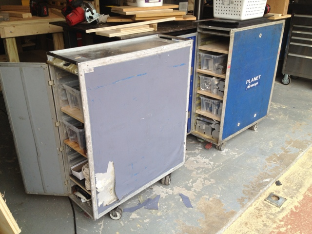 airline carts for stock storage