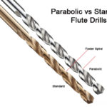 Parabolic vs Standard Flute Twist Drills = Better Performance