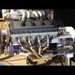 Quarter Scale Fuel-Injected DOHC V8 Engine