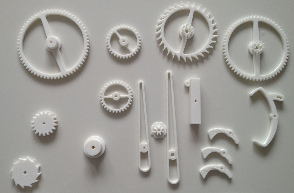 5 3d Printing Clock Projects Cnccookbook Be A Better Cnc Er