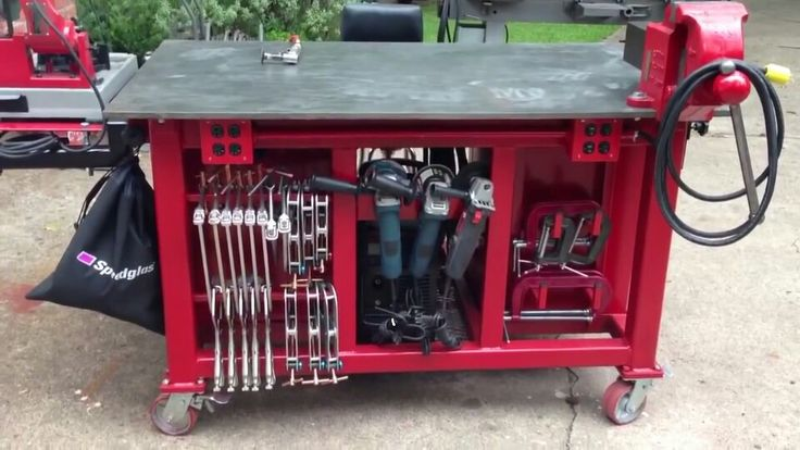 Storehouse Of Diy Welding Table And Cart Ideas