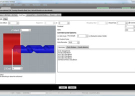 Conversational CNC Drilling Wizard with Deep Hole Cycles Added to GWE v1.93