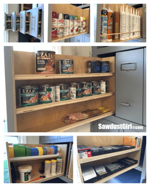 garage storage vertical drawers