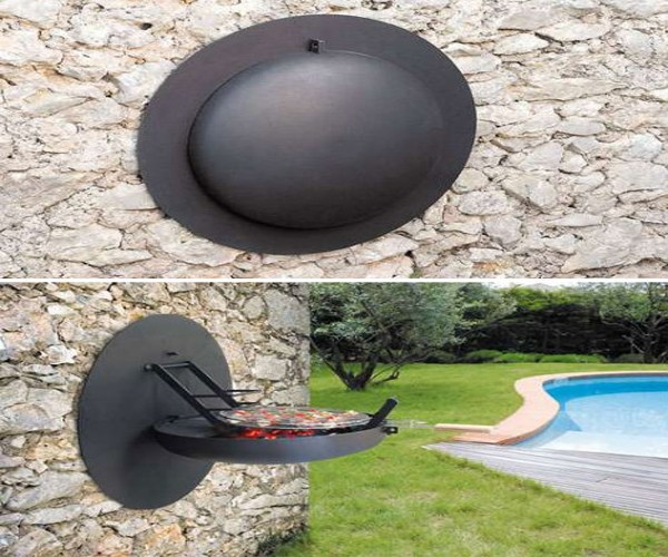 foldable_wall_mounted_barbecue_grill