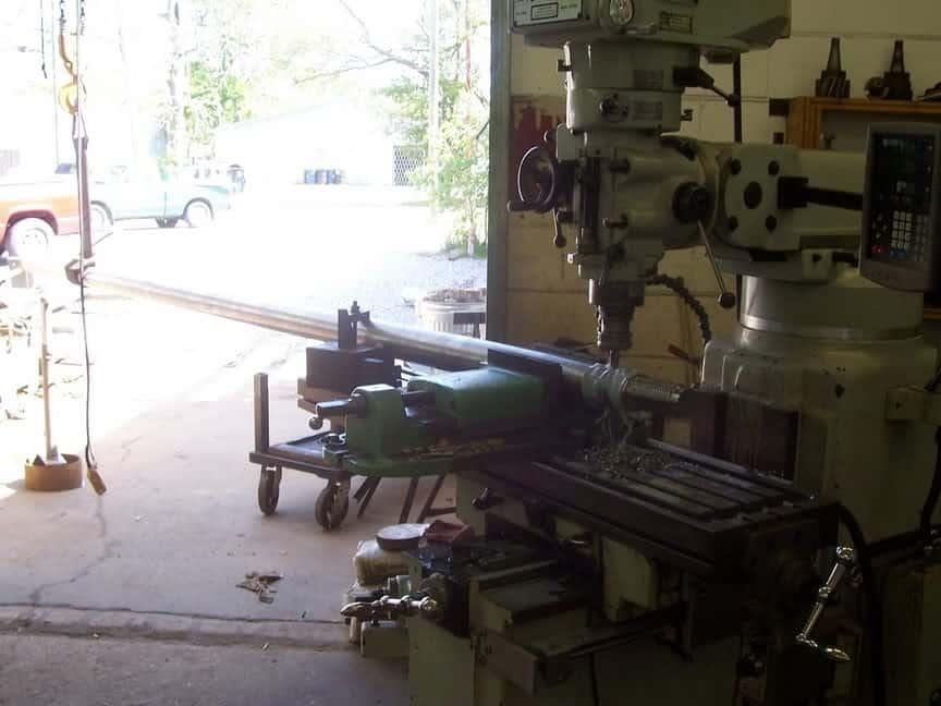large part machining