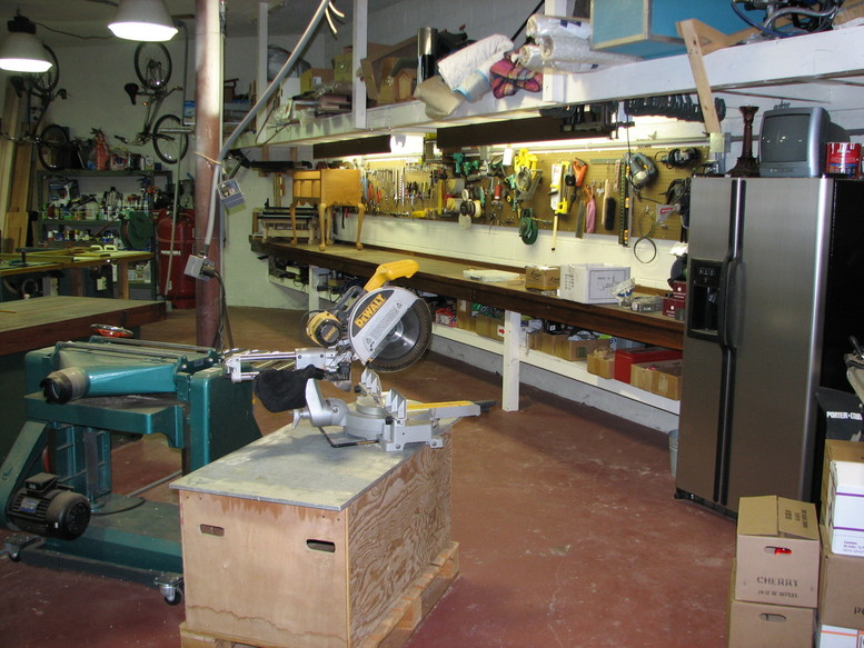 Tipsys Woodworking Cum Metalworking Shop And Fabulous Monarch 10EE Lathe