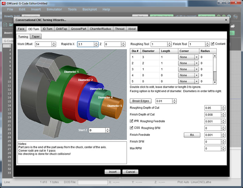 cnc lathe programming software