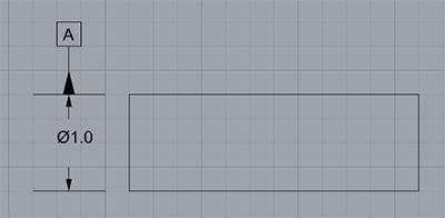 datum symbol axis