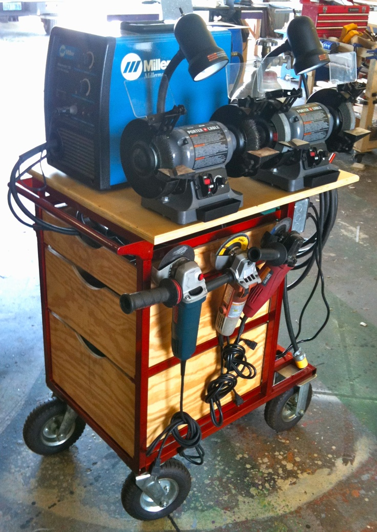 Complete diy welding table and cart ideas 50 designs solutioingenieria Gallery