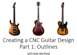 Easy Guitar Drawing for Custom Guitar Bodies, Part 1 [CNC / CAD Project]