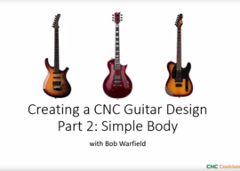Easy Guitar Drawing for Custom Guitar Bodies, Part 2 [CNC / CAD Project]