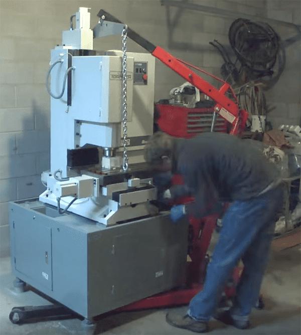 tormach milling machine frame