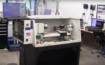 Inexpensive CNC Lathe with Powerful Acorn Controller
