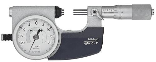mitutoyo dial micrometer