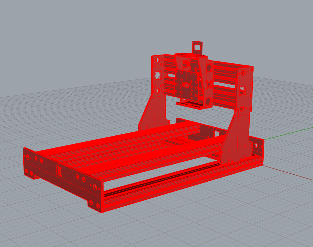 cnc router frame