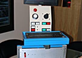 CNC Electronics Enclosure and Swingarm Rack
