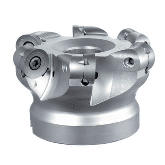 machining titanium with round inserts